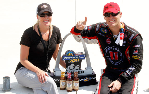 DeLana and Kevin Harvick