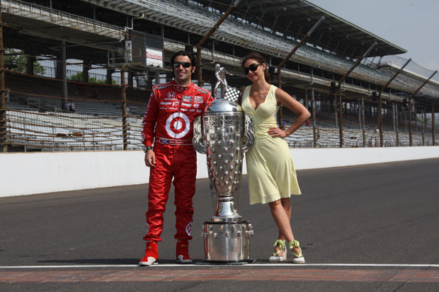 Dario Franchitti and his wife, Ashley Judd