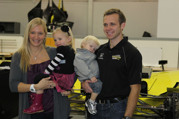 Ed Carpenter and family