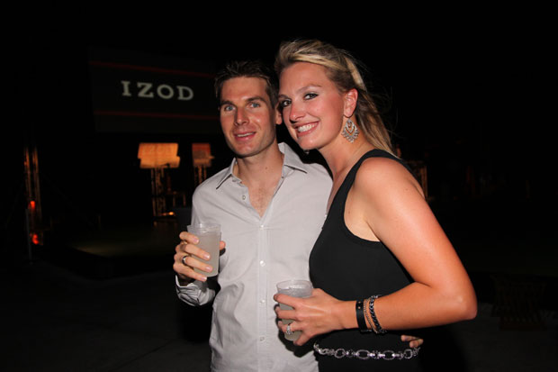 Will Power with his wife, Elizabeth